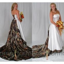 Small Crop Of Camo Wedding Dresses
