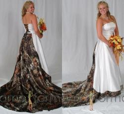 Small Of Camo Wedding Dresses