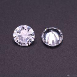 Small Crop Of Cubic Zirconia Vs Diamond