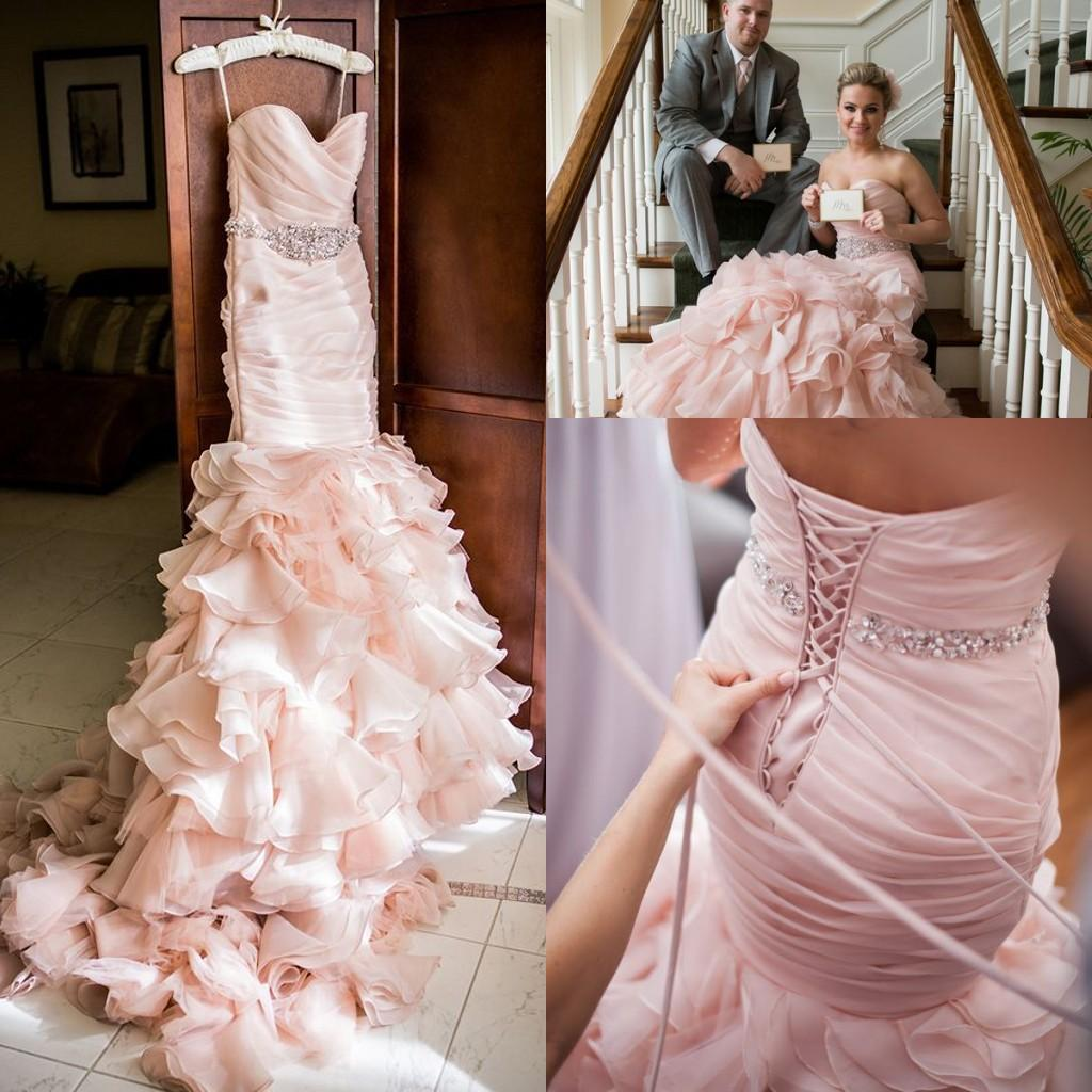 Fullsize Of Blush Wedding Dress