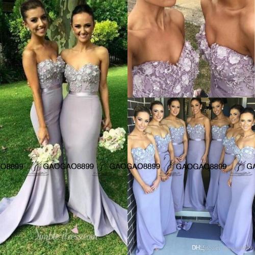 Medium Of Floral Bridesmaid Dresses