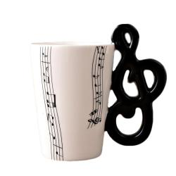 Considerable Ceramic Music Score Design Cups Mugs Ceramic Music Score Design Cups Mugs Musical Note Musical Note Handshank Coffee Cups Designer Mugs Cup Mug Mug Online
