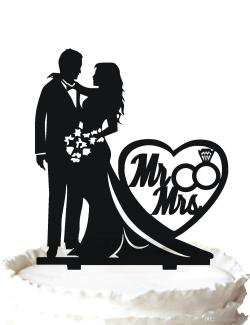 Small Of Wedding Cake Topper