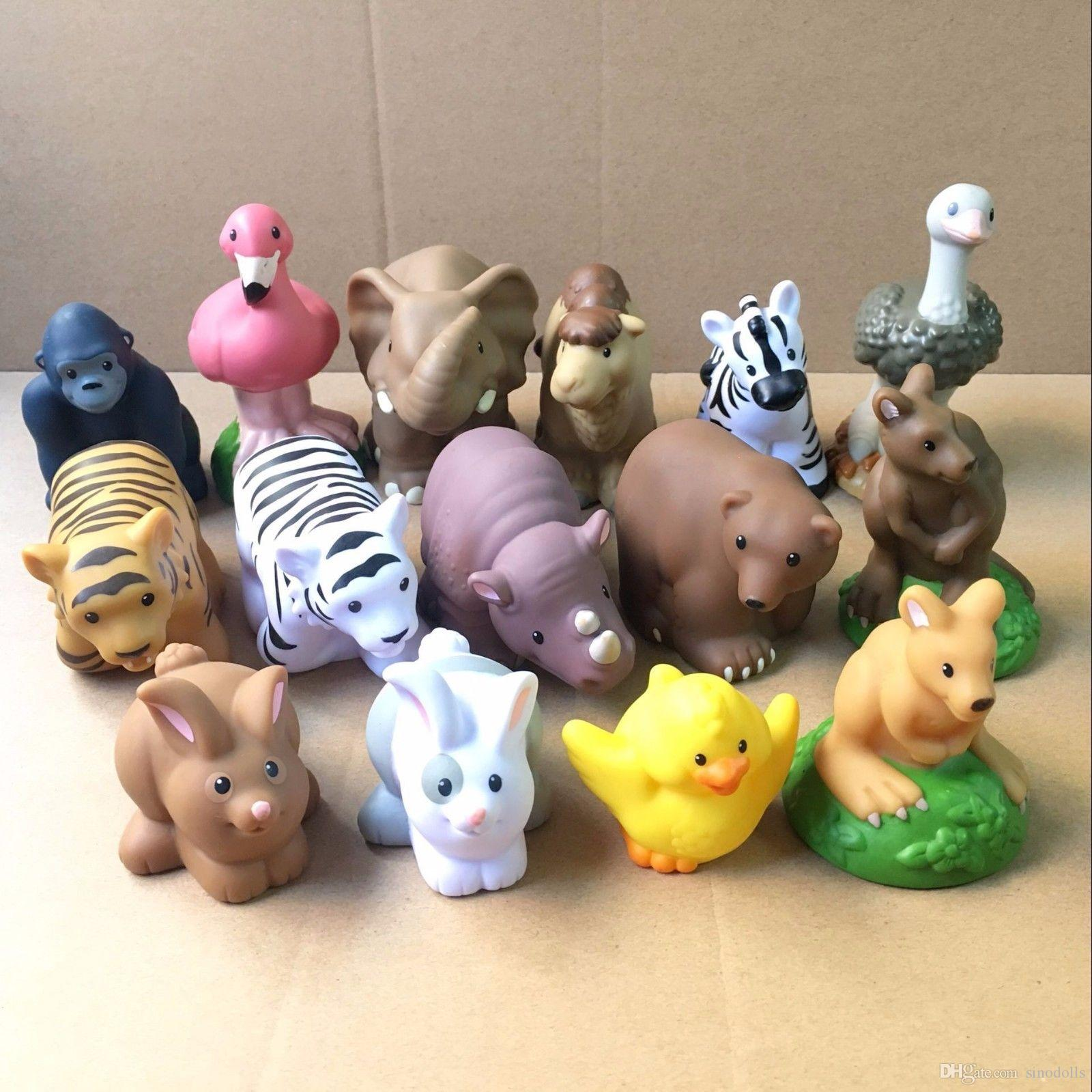 Glomorous 2018 Fisher Price Little People Farm Zoo Animal Rabbit Duck Zebra Nosound Action Figure Toy From 2018 Fisher Price Little People Farm Zoo Animal Rabbit Duck baby Fisher Price Zoo