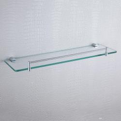 Extraordinary Single Glass Shelves Brass Rectangle Floating Shampooshower Her Hardware Bathroom Accessories Glass Shelf Gen Single Glassshelf Single Glass Shelves Brass Rectangle Floating