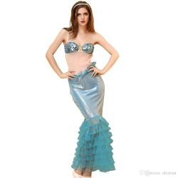 Small Of Mermaid Halloween Costume