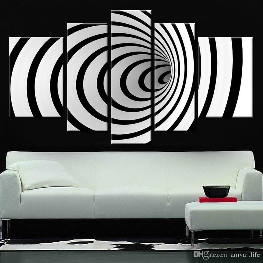 Fullsize Of Black And White Wall Art