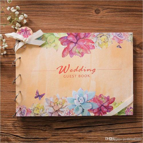Medium Of Wedding Guest Book