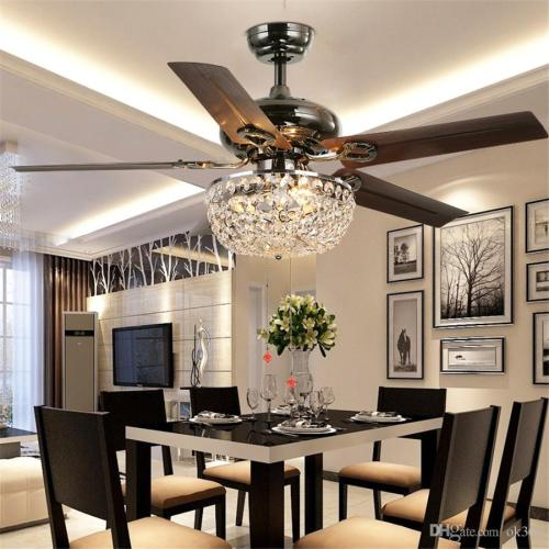 Medium Of Ceiling Fan Chandelier