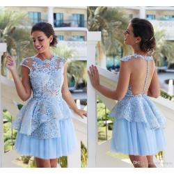 Small Crop Of Lace Cocktail Dress