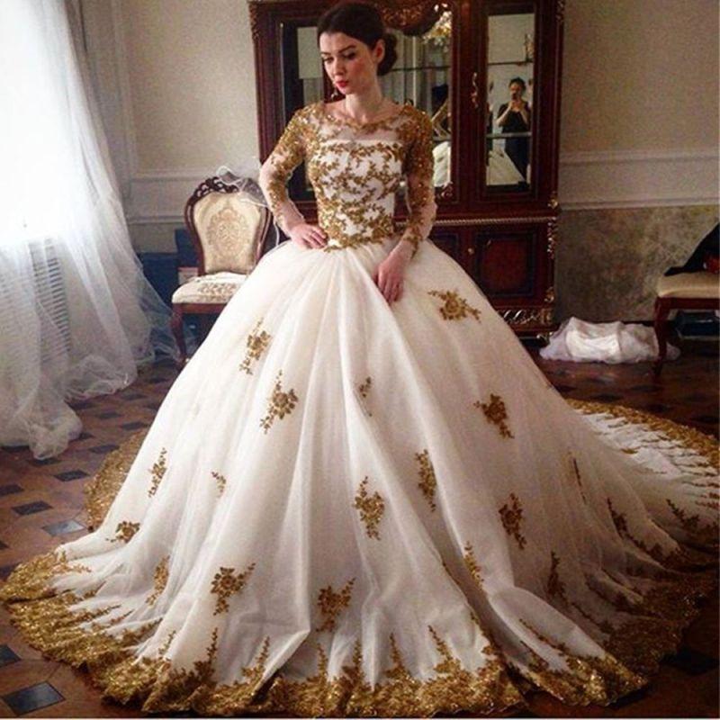 Large Of Gold Wedding Dress