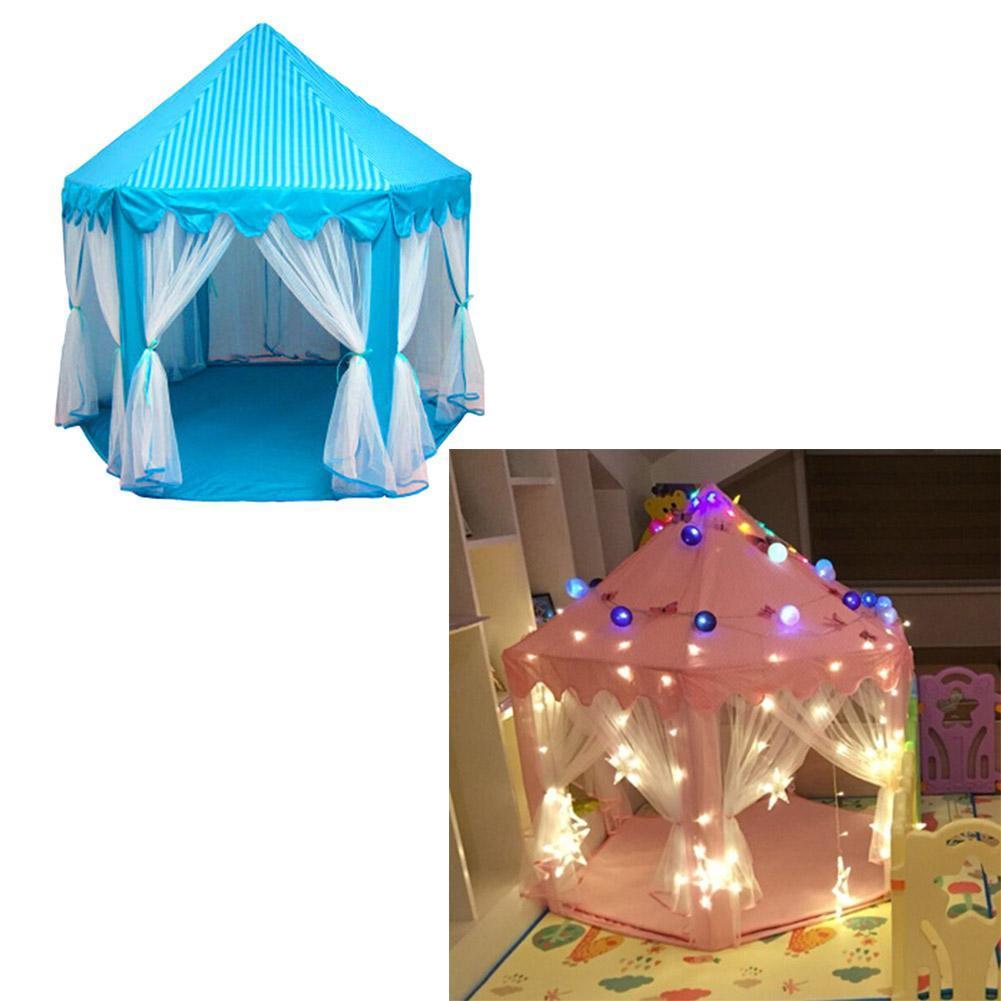 Smart Portable Children Kids Play Tents Outdoor Garden Fing Toy Tent Pop Upkids Girl Princess Castle Outdoor House Tent Pink Kids Tent Play Tent Withtunnel Portable Children Kids Play Tents Outdoor Ga baby Kids Play Tents