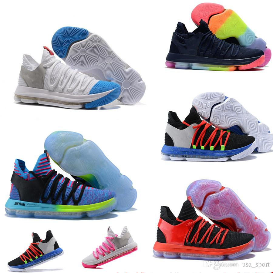 Interesting 2018 Newest Kd Durant Basketball Shoes Zoom Anniversary Pe Oreo Be Trueuniversity Red Chrome Kevin Sports Sneakers Size Cheapsneakers 2018 Newest Kd Durant Basketball Shoes Zoom Anniversar baby Kd Shoes For Kids