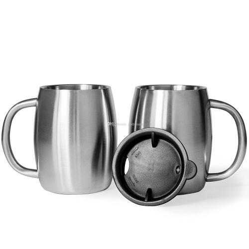 Medium Of Double Handle Coffee Cups