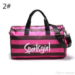 Small Crop Of Pink Duffle Bag