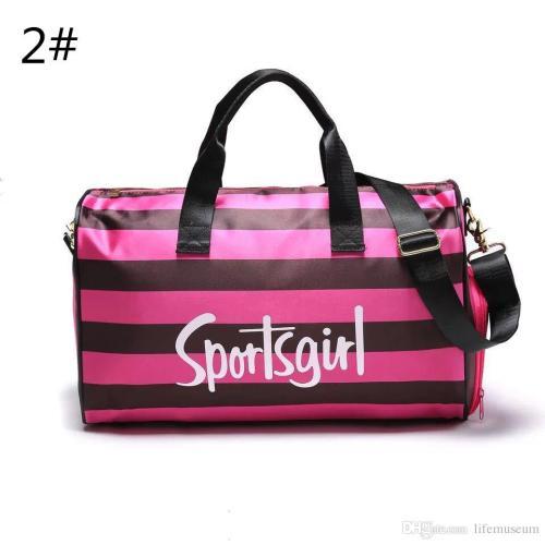 Medium Of Pink Duffle Bag
