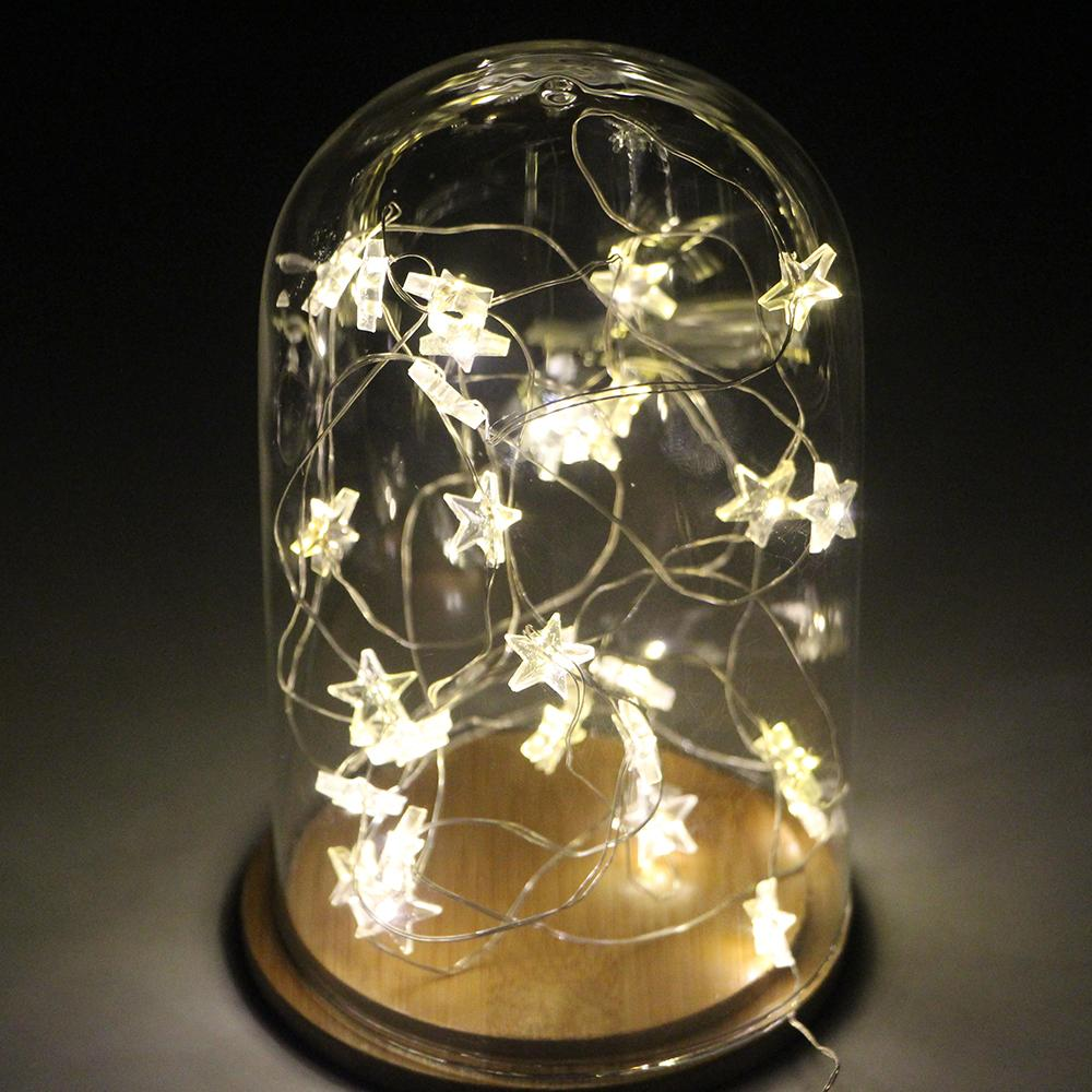 Gallant Led Star Starry Copper Wire String Lights Fairy Lightgarland Battery Operated Decoration String Lighting Ledstring Led Star Starry Copper Wire String Lights Fairy baby Star String Lights