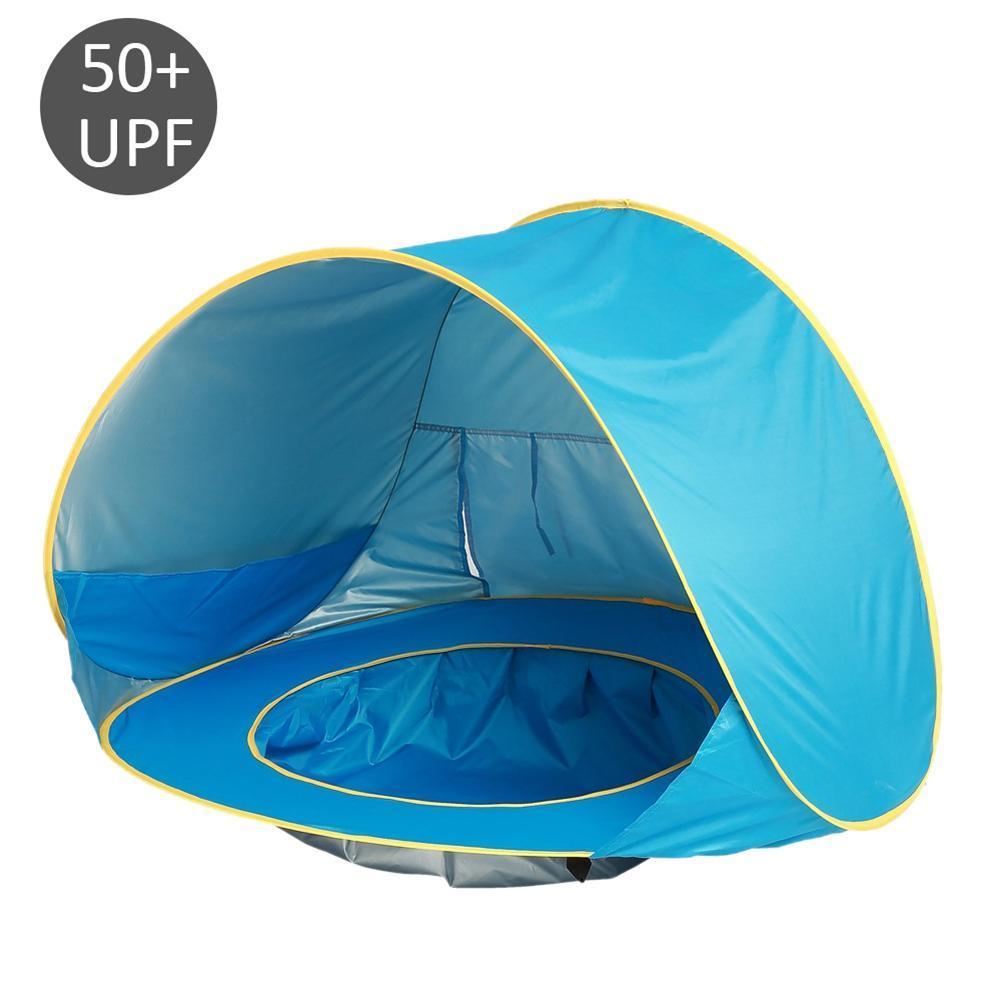 Amazing A Waterproof Pop Upawning Tent Kid Outdoor Camping Sunshade Beach Baby Beach Tent Sunshelter A Waterproof Pop Infant Baby Baby Toy Babytoys Baby Beach Tent Sunshelter baby Baby Beach Tent