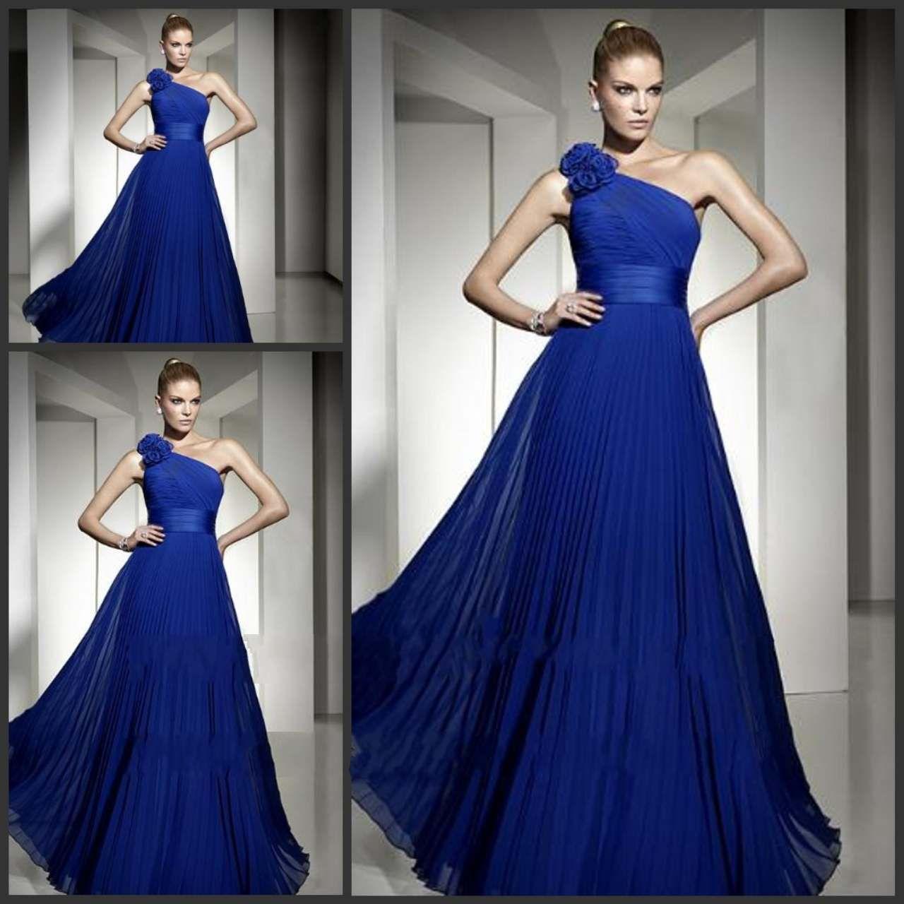 1 shoulder summer dress royal blue blue wedding dresses 1 shoulder summer dress royal blue