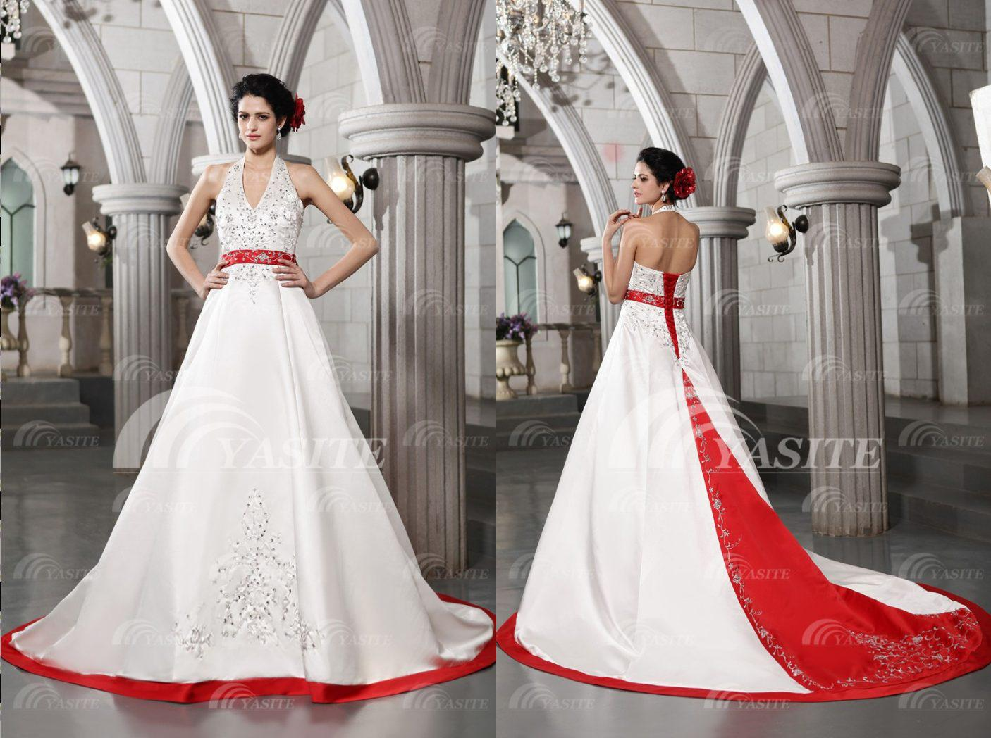 red wedding gown red wedding dresses image