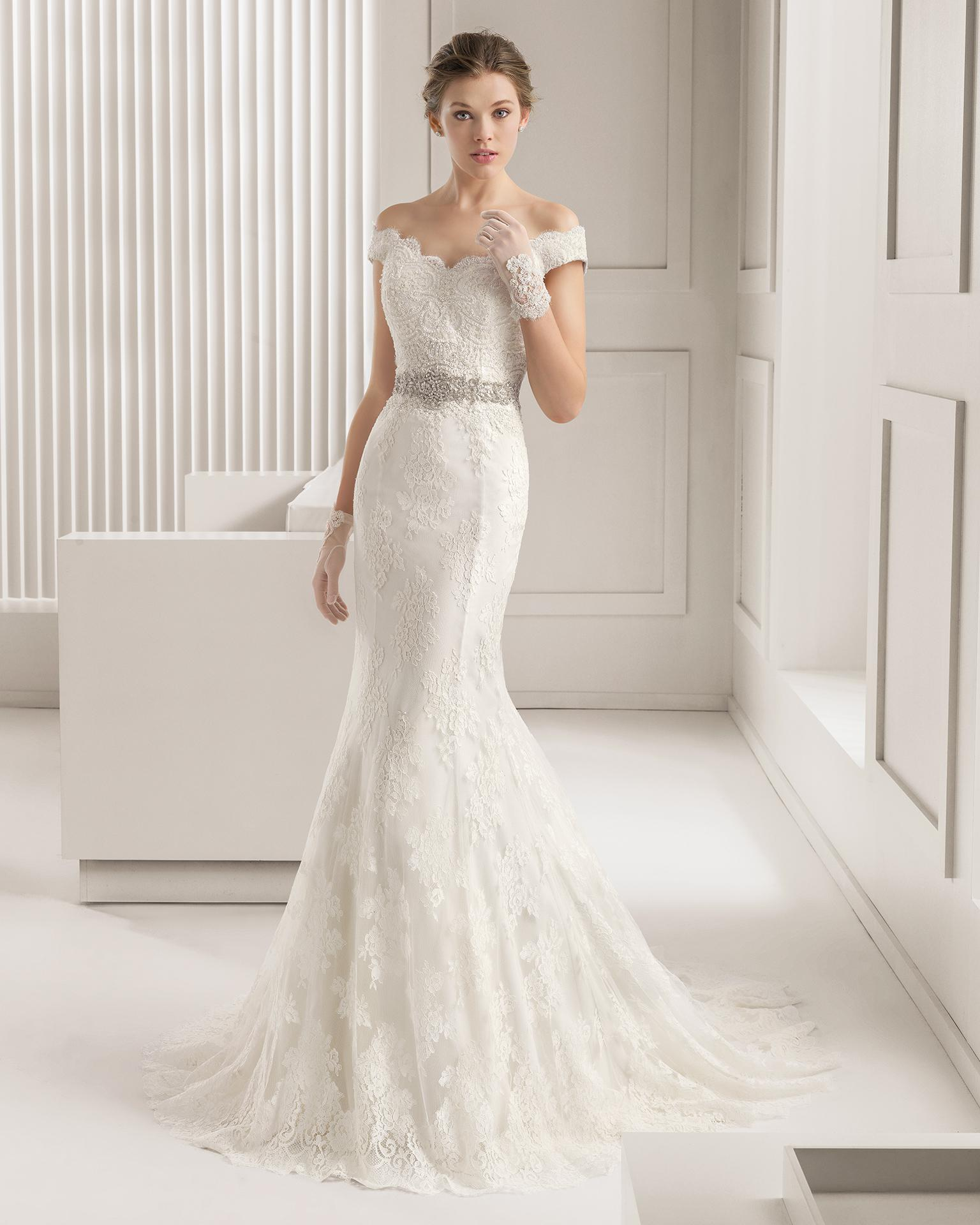 off shoulder wedding dresses fishtail wedding dress vintage lace mermaid wedding dresses off shoulder button back sequins applique bodice bridal gown court train soft tulle crystal belt lace wedding