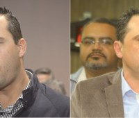 Segundo pesquisa Ibope, Lauro Michels soma 51% das intenções de voto, enquanto Wagner Feitoza tem 30%. Fotos: Eberly Laurindo