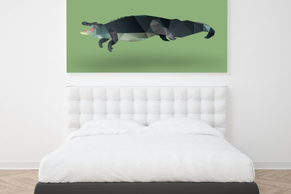 bedroom-wall-frame-dianas-animals-diana-dachille