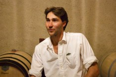 Nicholas sharing about the wines