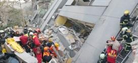 Terremoto causa 11 muertos y más de 400 heridos en Taiwán