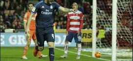 Real Madrid consigue triunfo agónico ante el Granada