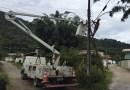 Bairro Sertãozinho de Itapema recebe melhorias Iluminação Pública