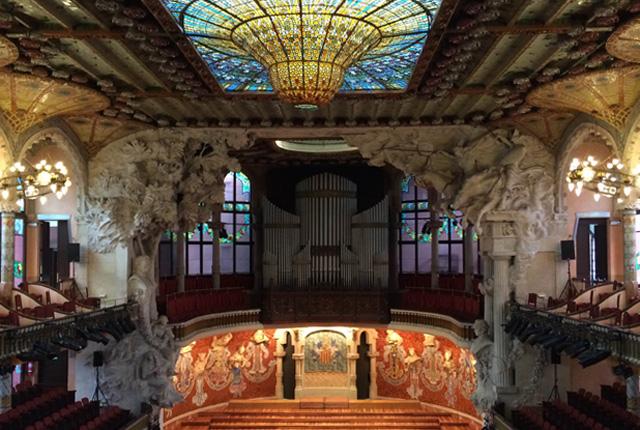 Qué obras Modernistas visitar en Barcelona