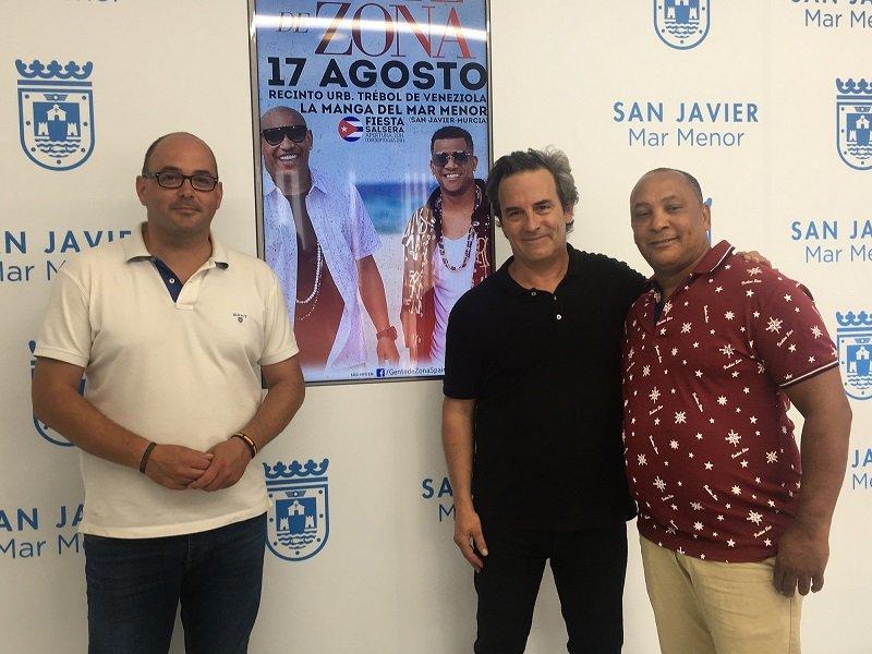 Los cubanos Gente de Zona ofrecerán un concierto en La Manga el 17 de agosto