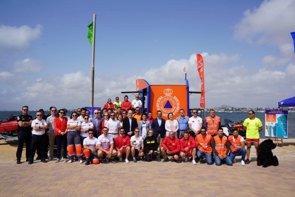 La Comunidad presentó ayer oficialmente el Plan Copla en San Pedro del Pinatar