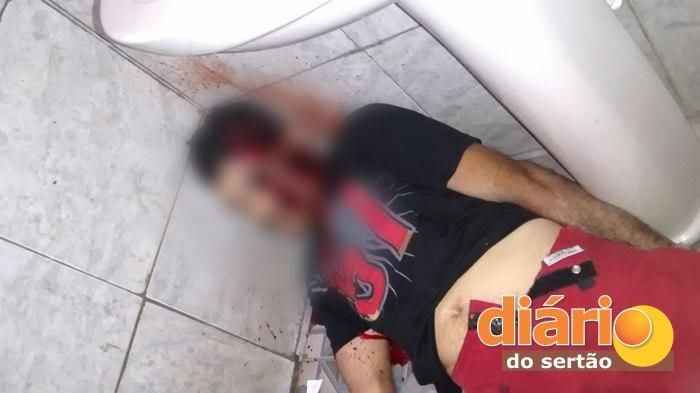 Vítima não resistiu aos ferimentos e morreu no local (foto: DS)