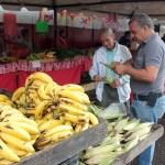 Hubo venta de frutas y hortalizas