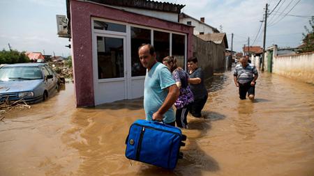 Macedonia: al menos 20 muertos en las inundaciones