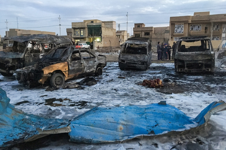 IRAQ-UNREST-BOMBINGS