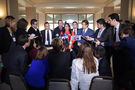 Sesión de la OEA desata dura pugna con Venezuela