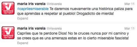 Iris Valera Twitter