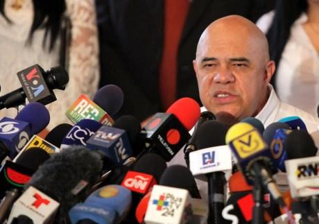 Rueda de prensa en la Asamblea Nacional