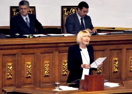 La fiscal general de la República, Luisa Ortega Díaz, durante la presentación de su informe de gestión del año 2015 ante la AN, destacó la creación de 34 fiscalías municipales que han beneficiado a gran cantidad de personas.