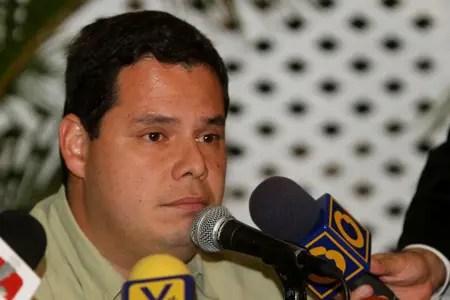 """Juan Carlos Caldera: """"La designación de Jorge Rodríguez es puro amedrentamiento."""