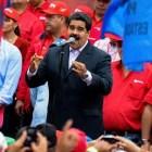 """""""La respuesta de Nicolás ha sido reiterativa y contundente: 'Ni renuncio ni me renuncian..."""" AFP / Federico Parra"""