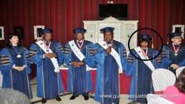 Los tres viceprimeros ministros del Gobierno y la Ministra de Justicia han sido distinguidos por la UPCI con títulos de Doctor Honoris Causa por la labor desempeñada en sus respectivos cargos