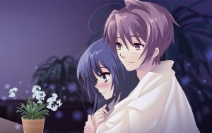 Cute-Anime-Hug-HD-Resolution-Wallpaper