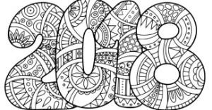 Dibujo-de-2018-para-colorear