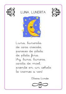 Poesías para niños primer grado