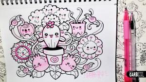 Dibujos kawaii de unicornio