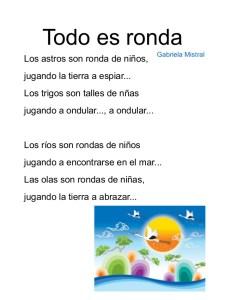 Poesías para niños cortas